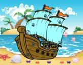Dibujo Barco de vela pintado por rechelrc