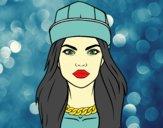 Dibujo Una chica moderna pintado por Picasa