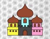 Dibujo Castillo árabe pintado por salomerua