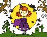 Dibujo Día de Halloween pintado por champi17