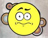 Smiley mal presentimiento