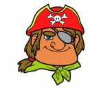 Dibujo Jefe pirata pintado por Socovos