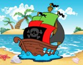 Barco de piratas