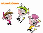 Padrinos Mágicos - Timmy, Wanda y Cosmo