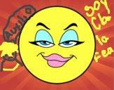 Dibujo Smiley malvada pintado por adrinette1
