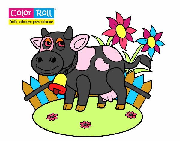 Dibujos De Vacas Animadas Para Colorear: Dibujos De Vacas Para Colorear