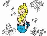 Una reina sirena