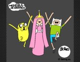 Jake, Princesa Chicle y Finn