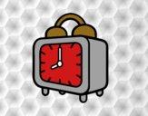 Un reloj despertador