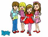 Nancy y sus amigos
