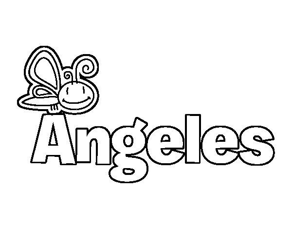 Dibujos De Angelitos Para Colorear. Great Angelitos Nios
