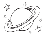 Dibujo de Anillo planetario
