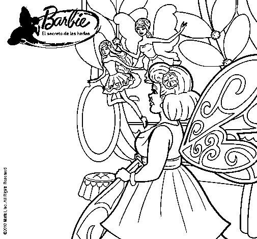 Dibujo de Aparicin de las hadas para Colorear  Dibujosnet