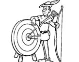 Dibujo de Arquero para colorear