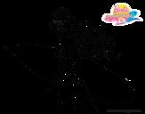 Dibujo de Barbie surfera para colorear
