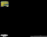 Dibujo de Bob Esponja - Planktonman para colorear