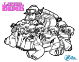 Dibujo de Bombero - El extraordinario viaje de Lucius Dumb para colorear