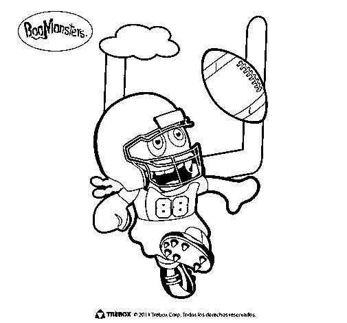 Dibujo de BooMonsters 4 para Colorear