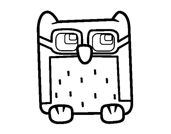 Dibujo de Bho con gafas para Colorear  Dibujosnet
