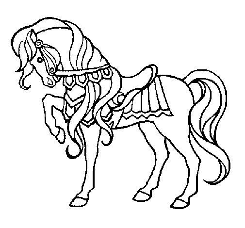 Dibujo de Caballo 1 para Colorear  Dibujosnet