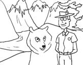 Dibujo de Canadá 1 para colorear
