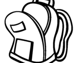 Dibujo de Cartera de colegio II