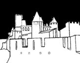 Dibujo de Castillo antiguo