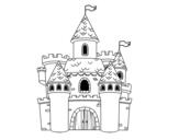 Dibujo de Castillo de fantasía para colorear