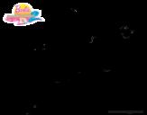 Dibujos de Barbie Una aventura de sirenas 2 para Colorear