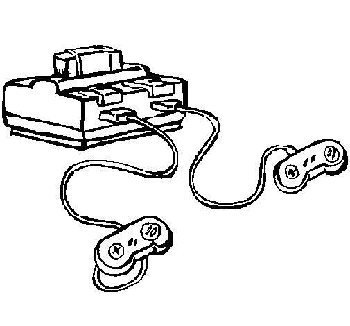Dibujo de Consola para Colorear