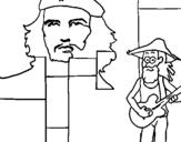 Dibujo de Cuba 1 para colorear