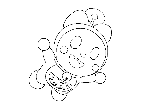 Dibujos Para Colorear E Imprimir De Doraemon: Dibujo De Dorami Volando Para Colorear