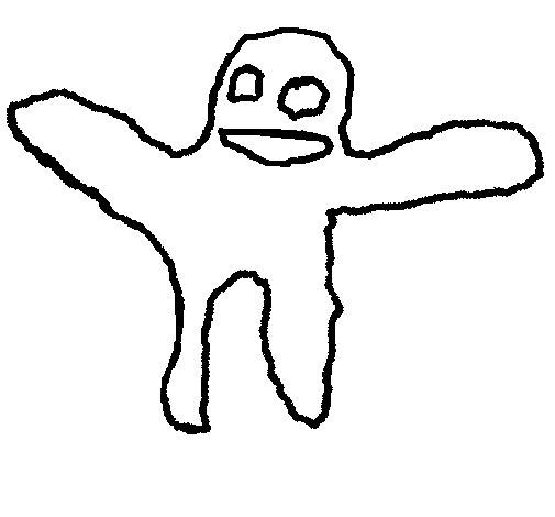 Dibujo de Fantasma para Colorear