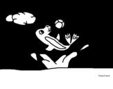 Dibujo de Foca jugando