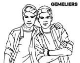 Dibujo de Gemeliers para colorear
