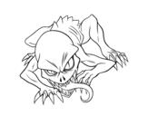 Dibujo de Ghoul para colorear
