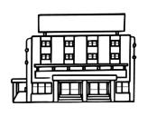 Dibujo de Hotel