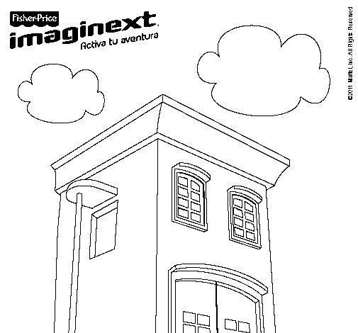 Dibujo de Imaginext 5 para Colorear