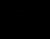 Dibujo de Julio César de niño