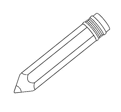 Dibujo de Lápiz II para Colorear