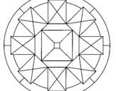 Dibujo de Mandala 30 para colorear