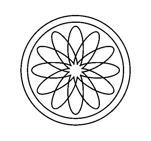 Dibujo de Mandala 34 para Colorear