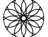 Dibujo de Mandala 38 para colorear