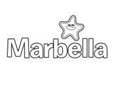 Dibujo de Marbella para colorear
