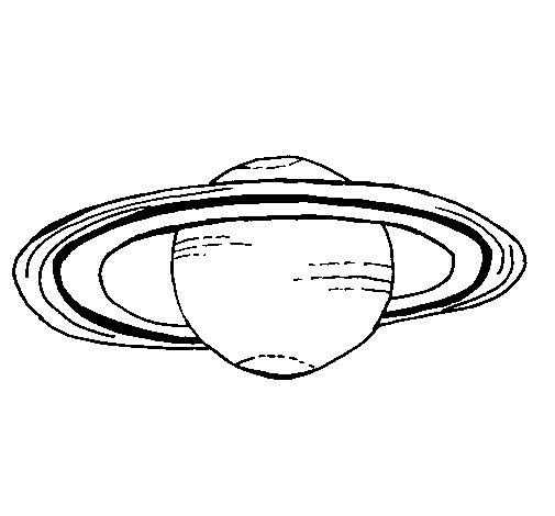 Dibujo de Marte para Colorear