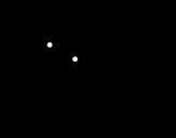 Dibujo de Melocotón con la lengua fuera para colorear