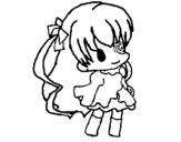 Dibujo de Niña pequeña