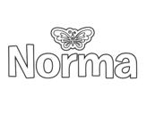 Dibujo de Norma para colorear