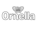 Dibujo de Ornella para colorear