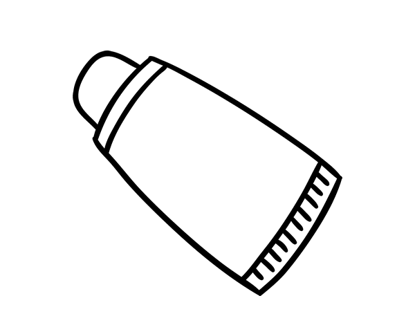 Pasta Dental Dibujo Para Colorear